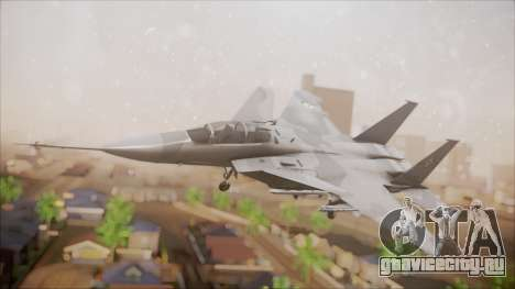 F-15S MTD Grabacr (8492nd) Ace Combat 5 для GTA San Andreas