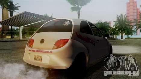 Ford Ka El Patan для GTA San Andreas вид слева