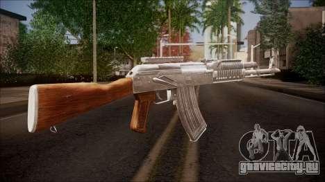 AK-47 v2 from Battlefield Hardline для GTA San Andreas второй скриншот