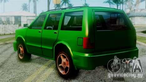 Landstalker New Edition для GTA San Andreas вид слева