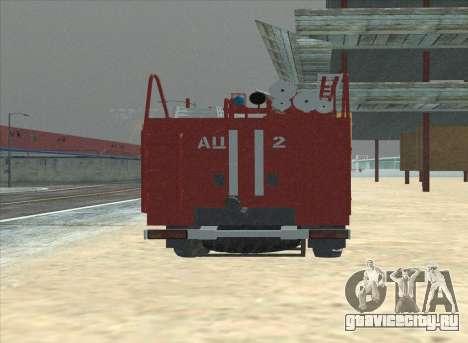 Урал 375 Пожарный для GTA San Andreas вид справа