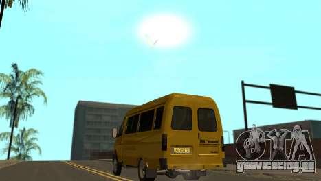 ГАЗ 2705 ТМК Форсаж для GTA San Andreas вид сзади слева