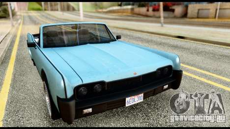 GTA 5 Vapid Chino Stock для GTA San Andreas
