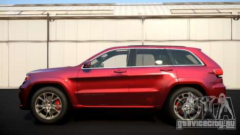 Jeep Grand Cherokee SRT8 2015 v1.0 для GTA 4 вид изнутри