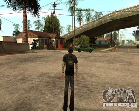 Kenny from Walking Dead для GTA San Andreas второй скриншот