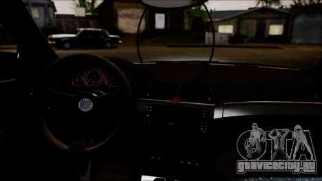 BMW 325t E46 LCI SAO Itasha для GTA San Andreas вид сзади