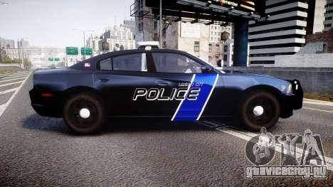 Dodge Charger 2014 LCPD [ELS] для GTA 4 вид слева