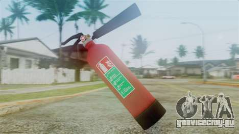 Fire Extinguisher from GTA 5 для GTA San Andreas второй скриншот