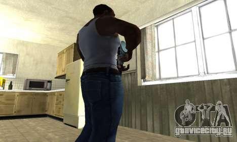 Mini Water Time Sniper Rifle для GTA San Andreas третий скриншот