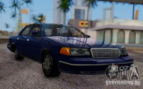 Ford Crown Victoria Civillian для GTA San Andreas