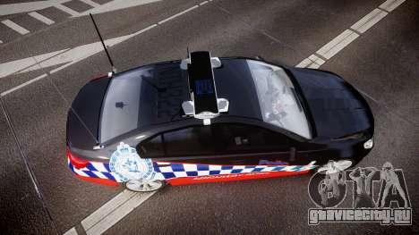 Holden VF Commodore SS Highway Patrol [ELS] для GTA 4 вид справа