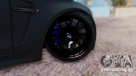 BMW M1 Tuned для GTA San Andreas вид сзади слева