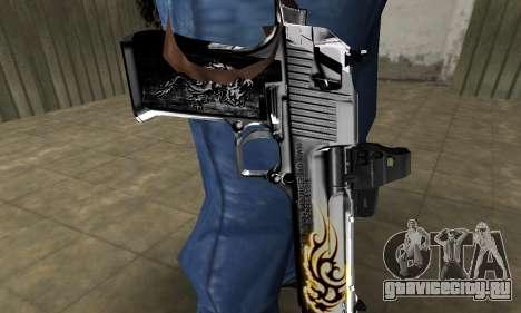 Flame Deagle для GTA San Andreas второй скриншот
