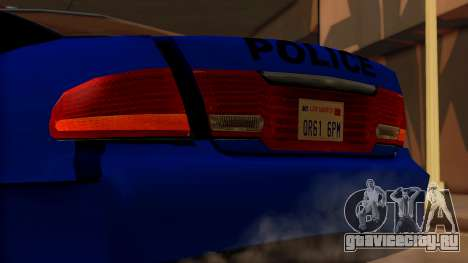 Police HSV VT GTS SA Style для GTA San Andreas вид сзади