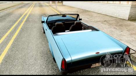 GTA 5 Vapid Chino Stock для GTA San Andreas вид слева