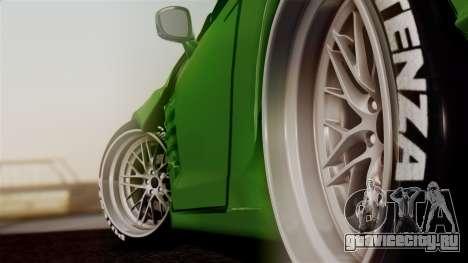 Nissan GT-R R35 Bensopra 2013 для GTA San Andreas вид сзади слева