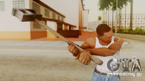 Bogeyman Hammer from Silent Hill Downpour v2 для GTA San Andreas третий скриншот