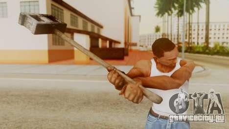 Bogeyman Hammer from Silent Hill Downpour v2 для GTA San Andreas третий скриншот