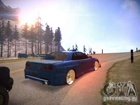 T.0 Secret Enb для GTA San Andreas третий скриншот