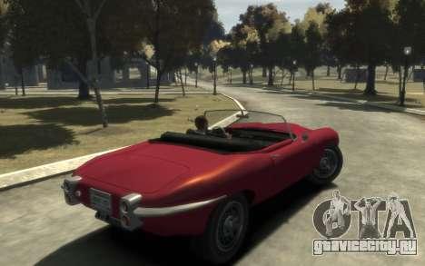 Enus Windsor Classic для GTA 4 вид сзади слева
