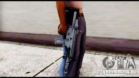 MK16 PDW Standart Quality v1 для GTA San Andreas третий скриншот
