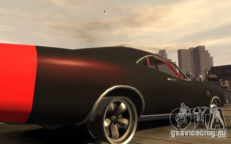 Dukes Impulse Daytona Tuning для GTA 4 вид изнутри