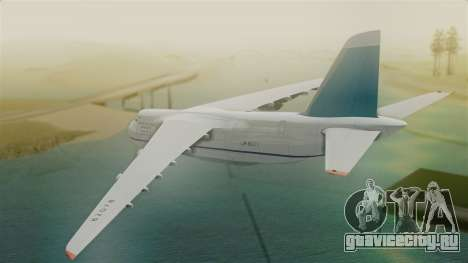 Antonov 124 Russian Airforce для GTA San Andreas вид слева