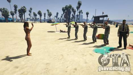 Firing Squad для GTA 5