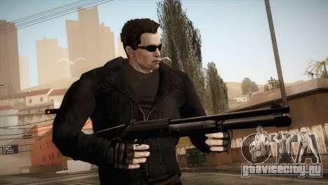 Arnold T-850 Skin для GTA San Andreas