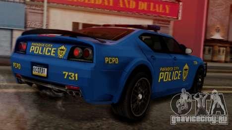 Hunter Citizen v2 IVF для GTA San Andreas вид слева
