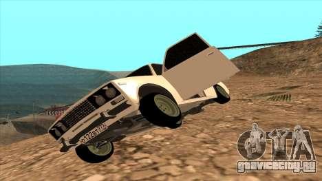 ВАЗ 2106 Аштантум для GTA San Andreas вид сзади слева