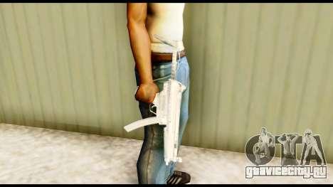 MP5 с прикладом для GTA San Andreas третий скриншот