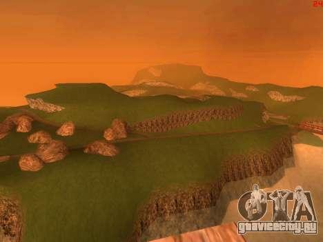 Зелёная пустыня Лас Вентурас v2.0 для GTA San Andreas четвёртый скриншот