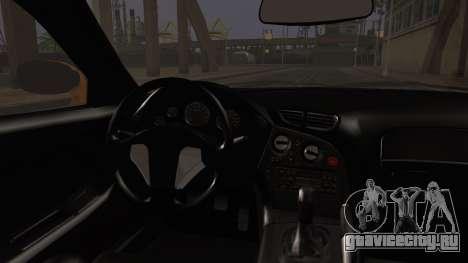 Mazda RX-7 Veilside для GTA San Andreas вид сзади слева