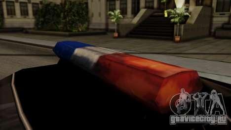 Police Elegy для GTA San Andreas вид справа