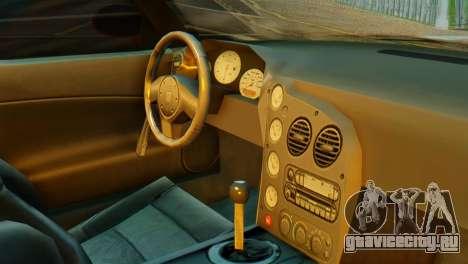 Dodge Viper SRT10 для GTA San Andreas вид справа