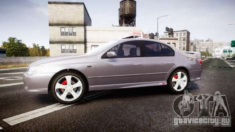 Ford Falcon XR8 Unmarked Police [ELS] для GTA 4 вид слева