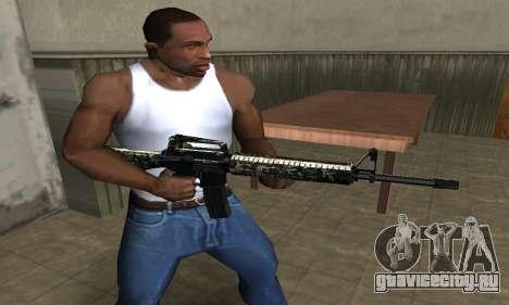 Military M4 для GTA San Andreas второй скриншот