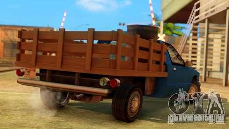 Premier Country Pickup для GTA San Andreas вид слева