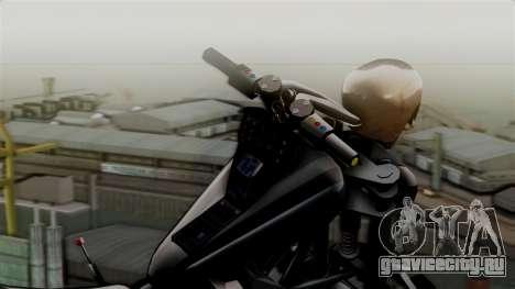 Hexer Moto Jet для GTA San Andreas вид сзади слева