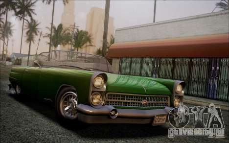 GTA 5 Vapid Peyote IVF для GTA San Andreas