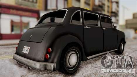 London Cab для GTA San Andreas вид слева
