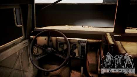 Polish HMMWV для GTA San Andreas вид сзади