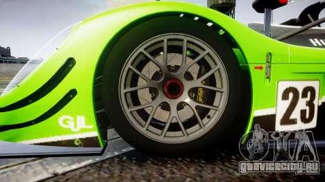 Radical SR8 RX 2011 [23] для GTA 4 вид сзади
