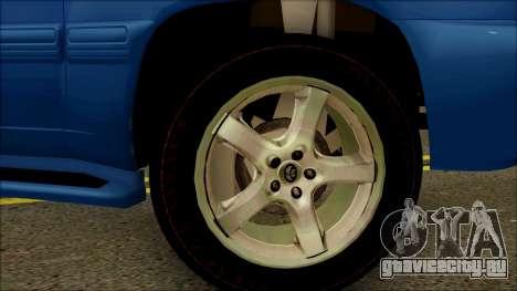 Toyota Land Cruiser 100 UAE Edition для GTA San Andreas вид справа