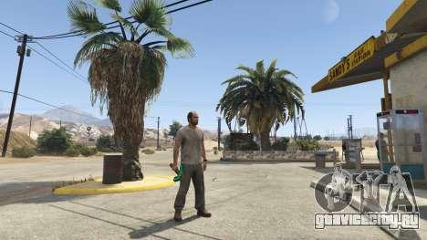 Diamond Pickaxe V v1.0 для GTA 5 второй скриншот