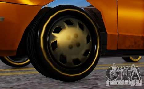 Ford Crown Victoria Taxi для GTA San Andreas вид сзади слева
