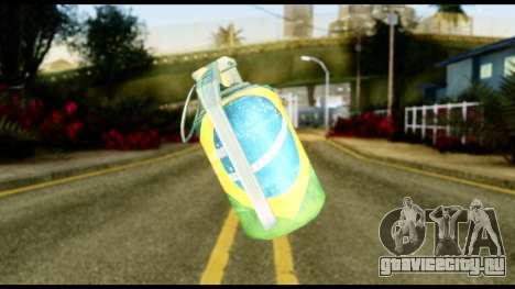 Brasileiro Grenade для GTA San Andreas