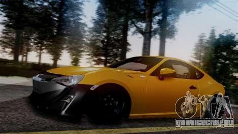 Toyota GT86 PJ для GTA San Andreas