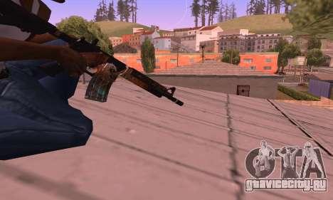 M4 Grifin для GTA San Andreas третий скриншот